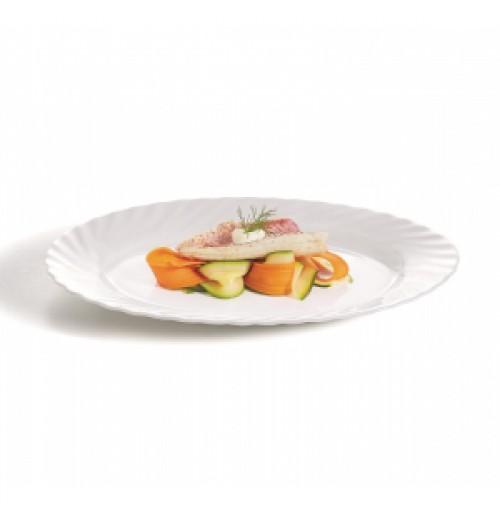 Блюдо овальное 29х22 см, Trianon, стекло OPAL