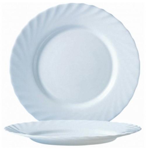 Блюдо круглое 31 см, Trianon, стекло OPAL