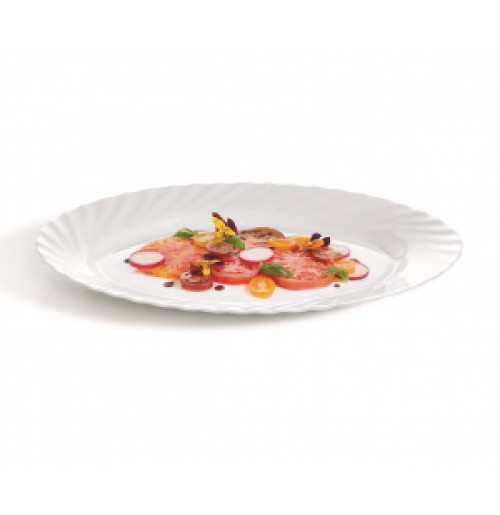Блюдо овальное 35х26 см, Trianon, стекло OPAL