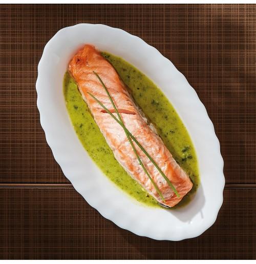 Блюдо овальное 22х14 см, Trianon, стекло OPAL