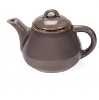 Чайник Fortuna 600 мл  серый, керамика