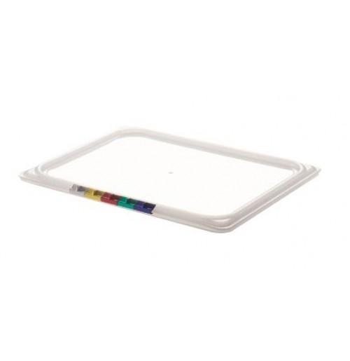 Крышка для гастроемкости 1/2, полипропилен, прозрачная
