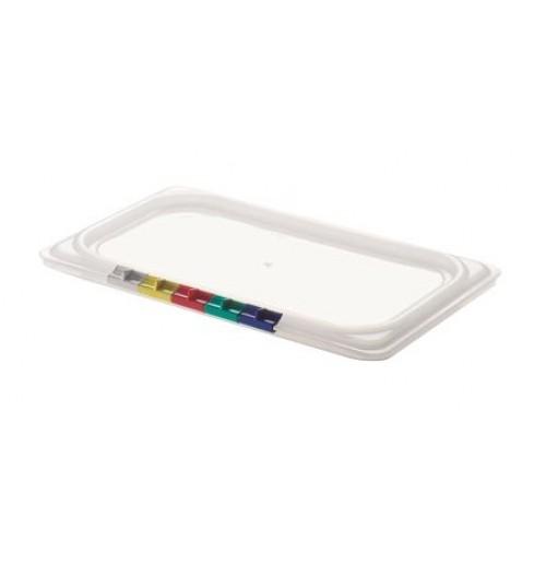 Крышка для гастроемкости 1/3, полипропилен, прозрачная