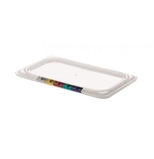 Крышка для гастроемкости 1/4, полипропилен, прозрачная
