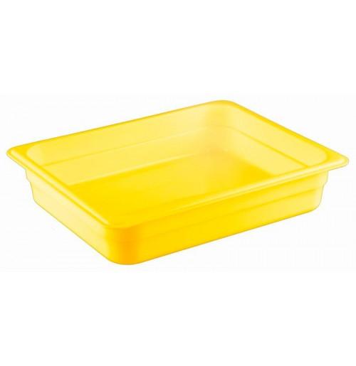 Гастроемкость 1/2  h=65, полипропилен, желтая