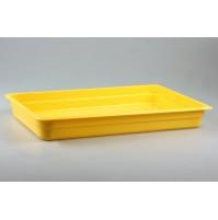 Гастроемкость 1/1  h=65, полипропилен, желтая