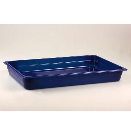 Гастроемкость 1/1  h=65, полипропилен, синяя