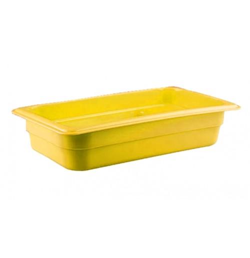 Гастроемкость 1/3  h=65, полипропилен, желтая