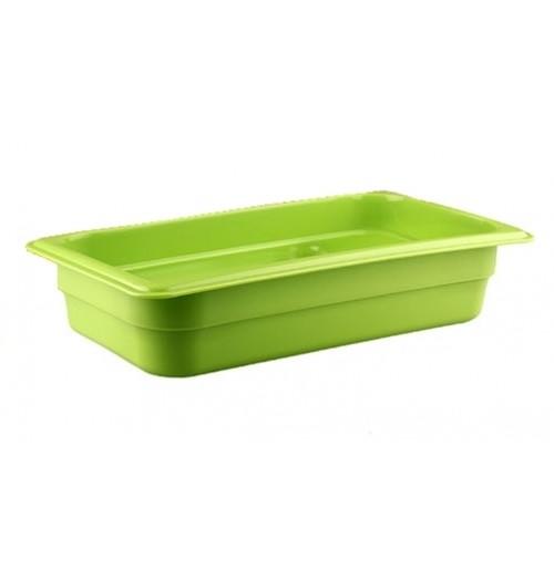 Гастроемкость 1/3  h=65, полипропилен, зеленая