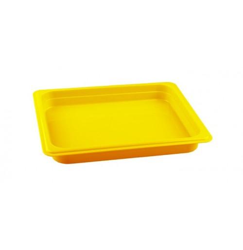 Гастроемкость 1/2  h=40, полипропилен, желтая