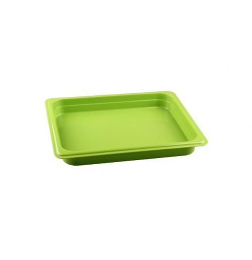 Гастроемкость 1/2  h=40, полипропилен, зеленая