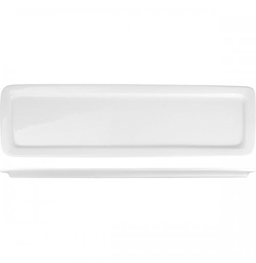 Гастроемкость 2/4 - 20 мм, белый, фарфор.