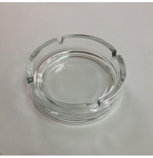 Пепельница D 14.5 см, стекло