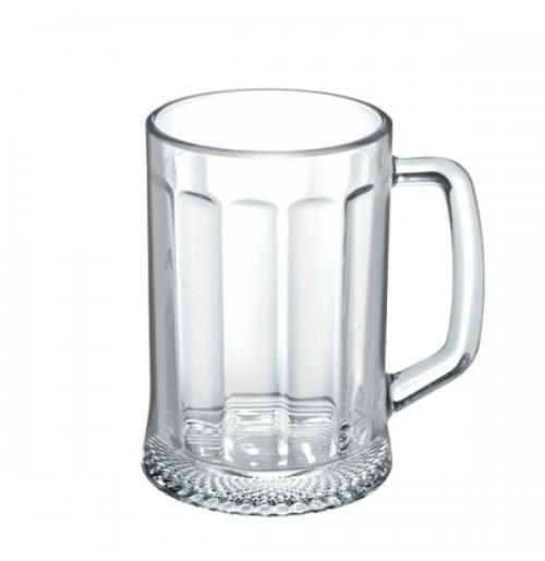 Кружка для пива 500 мл Ладья, стекло