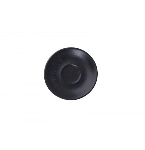 Блюдце 12 см Seasons черное (к кофейной чашке 80 мл), фарфор