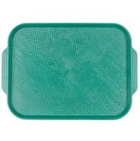 Поднос 45х35.5 см зеленый, полистирол