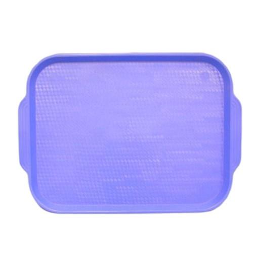 Поднос 45*35,5см. голубой, полистирол