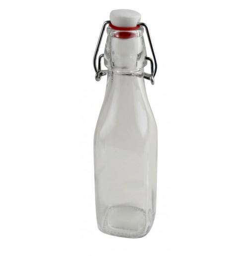 Бутылка для жидких специй с герметичной крышкой 250 мл , стекло