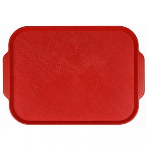 Поднос 45*35,5см. красный, полистирол