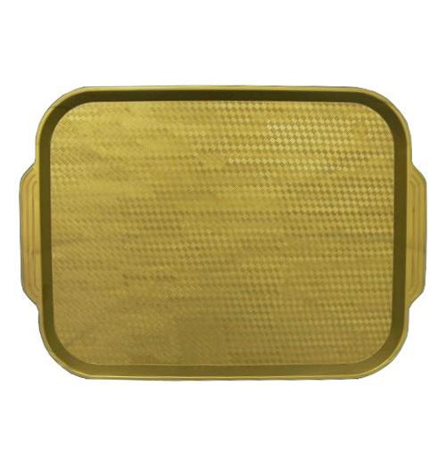 Поднос 45*35,5см. золотой, полистирол