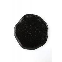 Тарелка с волнообразным краем,Seasons черный, фарфор, 27 см
