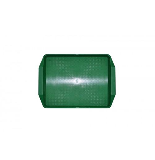 Поднос 42*30см зеленый, полипропилен