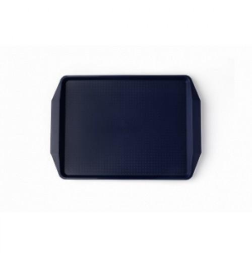 Поднос 42*30см темно-синий, полипропилен