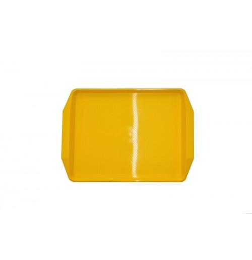 Поднос 42*30см желтый, полипропилен