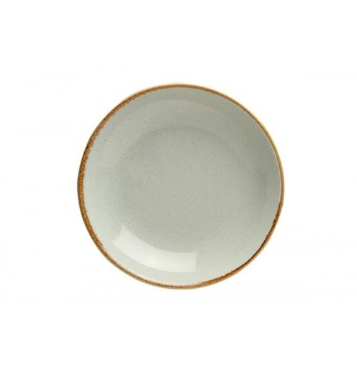 Cалатник/тарелка глубокая Seasons серый, фарфор, 30 см