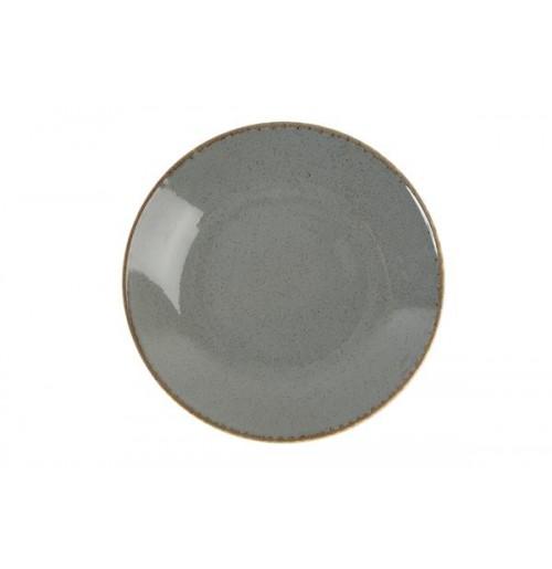 Cалатник/тарелка глубокая Seasons темно серый, фарфор, 30 см