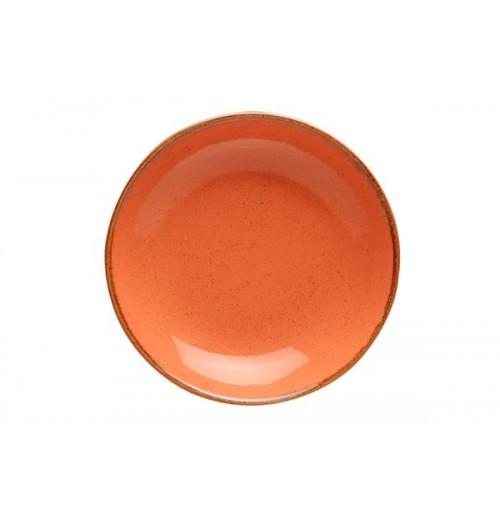 Cалатник/тарелка глубокая Seasons оранжевый, фарфор, 30 см