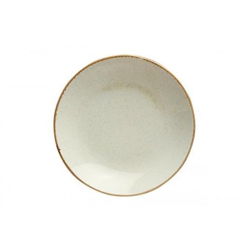 Cалатник/тарелка глубокая Seasons бежевый, фарфор, 30 см