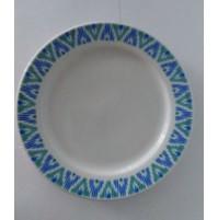 Тарелка 23.5 см Herkules с деколью, шпатовый фарфор