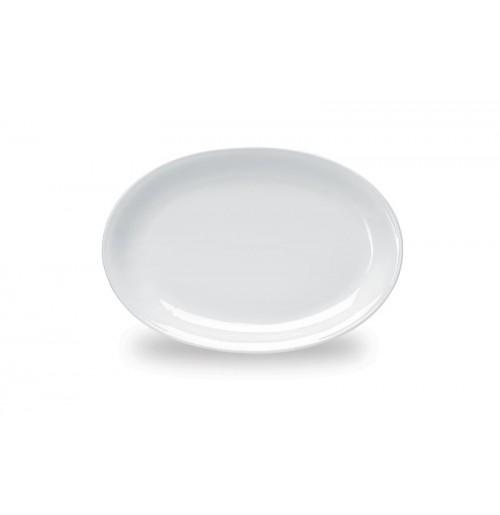 Блюдо овальное/тарелка 32х23 см Pegasus, шпатовый фарфор