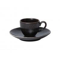 Набор Espresso Rhea: чашка 60 мл и блюдце 13 см, шпатовый фарфор