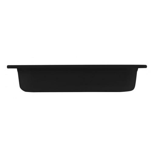 Гастроёмкость/блюдо 1/3-65 черная, меламин