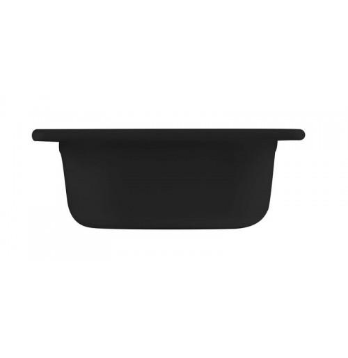 Гастроёмкость/блюдо 1/6-65 черная, меламин