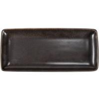 Тарелка прямоугольная 28х12,5 см Rhea, шпатовый фарфор.