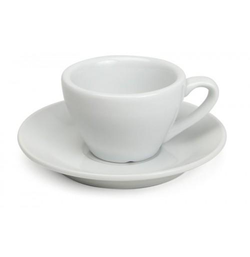 Набор Espresso Classic: чашка 80 мл и блюдце 12 см, шпатовый фарфор