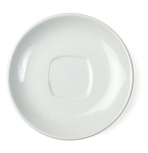 Блюдце Verona 15 см (к чашке 20412), шпатовый фарфор