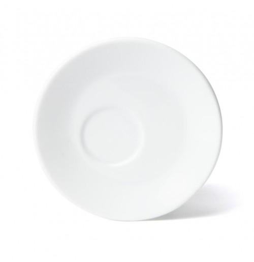 Блюдце асимметричное 15 см Rimini (к чашке 20428), шпатовый фарфор