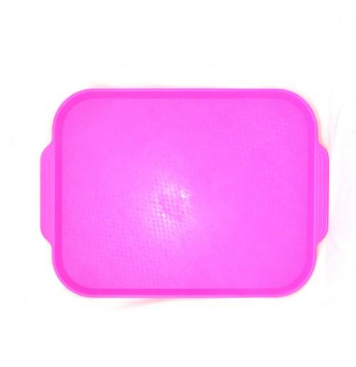 Поднос 45*35,5см. ярко-розовый, полистирол