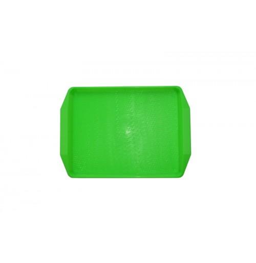 Поднос 42*30см ярко-зеленый, полипропилен