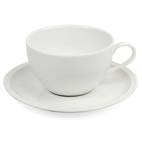 Набор Espresso Letho: чашка 90 мл и блюдце 11.5 см, костяной фарфор