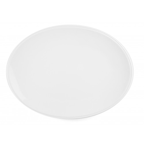Блюдо овальное без борта 30х22.5 см Letho, костяной фарфор