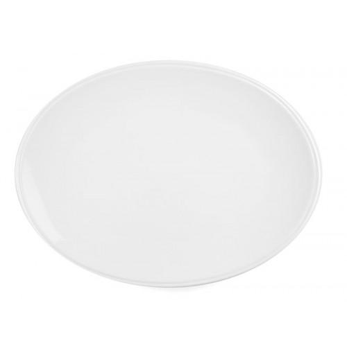 Блюдо овальное без борта 36х26.5 см Letho (new 26334)  костяной фарфор