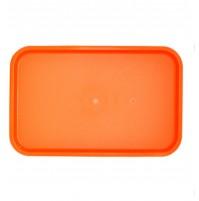 Поднос 53х33 см  оранжевый, полипропилен