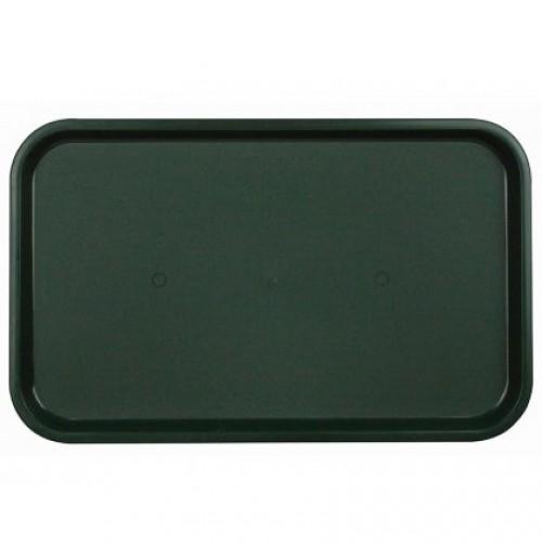 Поднос 53*33см темно-зеленый, полипропилен