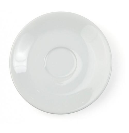 Блюдце 12.5 см Bergamo (к чашке 29231 и 20413), шпатовый фарфор