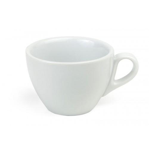 Чашка 180 мл Bergamo (блюдце 29234) ОСТАТОК 1 ШТ., шпатовый фарфор
